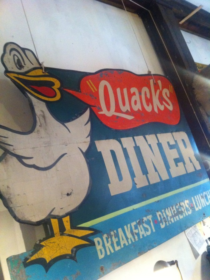 #118. Vintage signs are awesome.