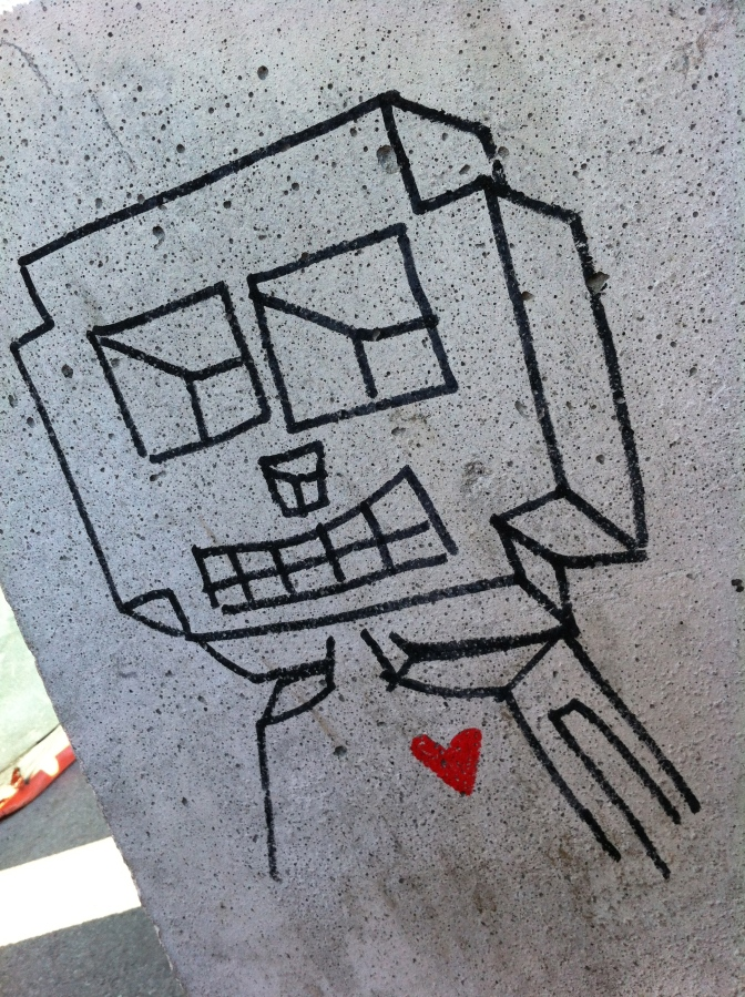 #136. Even robots need love too.